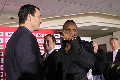 Dereck Chisora S&#246;rli Binder.