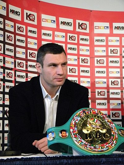 Vitali Klitschko KMG.