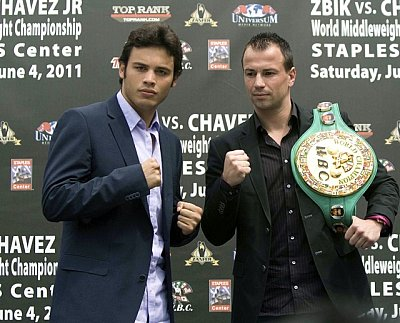 Julio Cesar Chavez Jr., Sebastian Zbik Universum Box-Promotion.