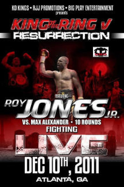 King of the Ring V ©KO Kings, RJJ Promotions.