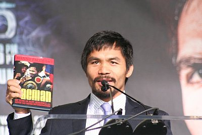 Manny Pacquiao Paddy Cronan/ONTHEGRiND BOXiNG.