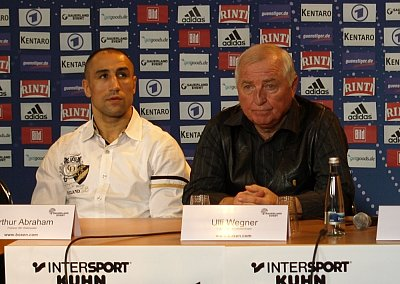 Arthur Abraham, Ulli Wegner SE.