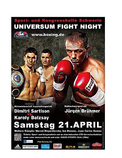 Universum Fight Night ©Universum.