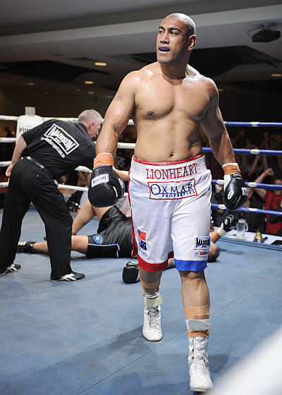Alex Leapai ©Thornberry Promotions.