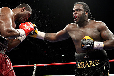 Bermane Stiverne ©David Martin Warr/Don King Productions.