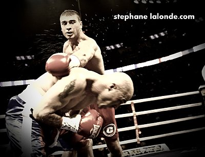 Lucian Bute Stephane Lalonde.