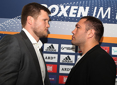 Alexander Dimitrenko, Kubrat Pulev Photo Wende.