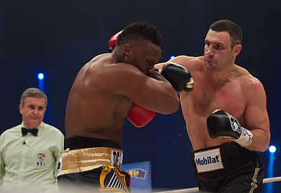 Dereck Chisora, Vitali Klitschko KMG.