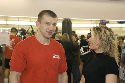 Tomasz Adamek Geoffrey Ciani.
