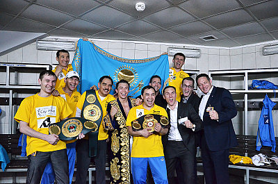 Team Golovkin ©GGG Boxing.