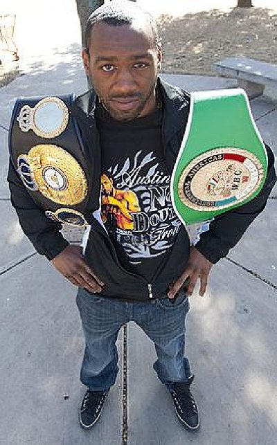 Austin Trout Chris Cozzone.