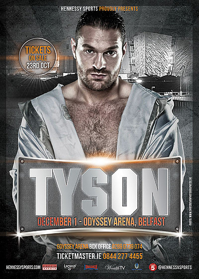 Tyson Fury Hennessy Sports.