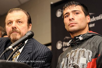 Lucas Matthysse Claudia Bocanegra.