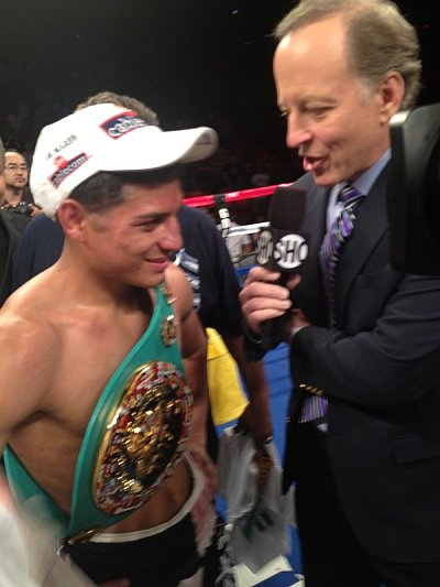 Abner Mares Espinoza Boxing.