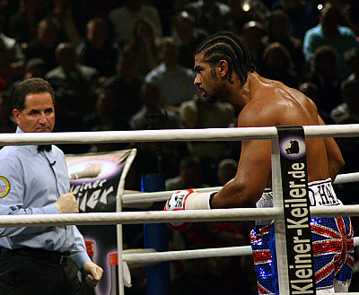 David Haye Sylvana Ambrosanio.
