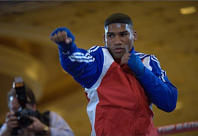 Yuriorkis Gamboa Sylvana Ambrosanio.