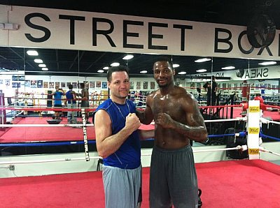 John Scully, Chad Dawson ©Team Dawson.