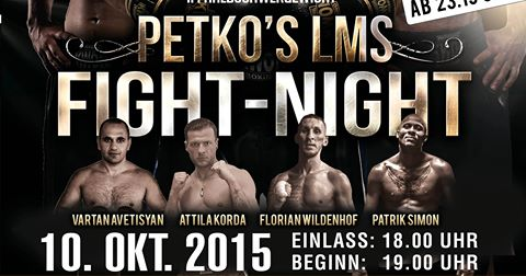 Petko's Fightnight 10-15 1