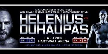 Helenius vs Duhaupas