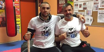 Petkos Boxpromotion-Serge Michel (links) Eduard Michel (rechts)