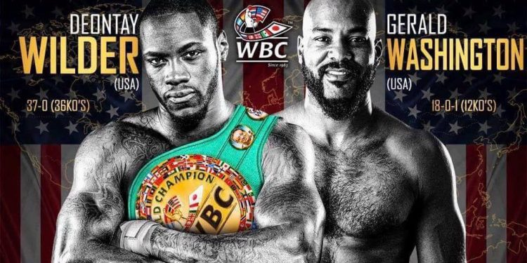 Wilder Washington WBC
