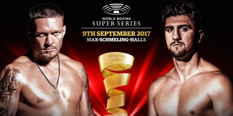Foto World Boxing Super Series Huck, Usyk