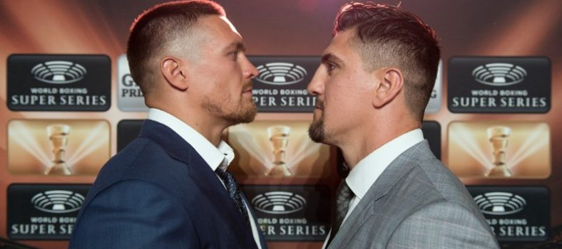 Foto World Boxing Super Series_Huck, Usyk