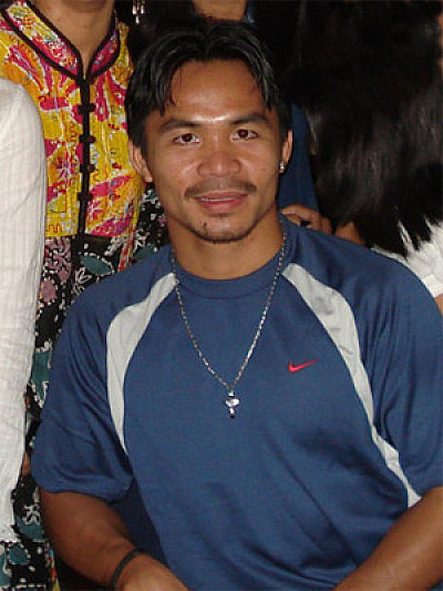 Manny Pacquiao ©Mike Gonzalez