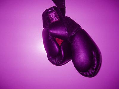 Abrahams Kampfhandschuhe kommen erst am 27. März zu ihrem Einsatz ©Nino Celic