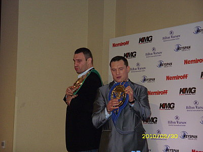 Vitali Klitschko, Albert Sosnowski ©Dariusz Pater.