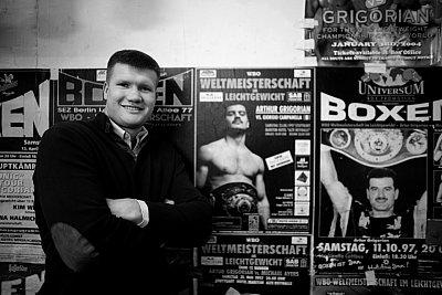Alexander Dimitrenko ©Universum Box-Promotion.