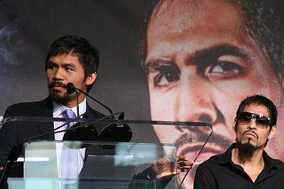 Manny Pacquiao, Antonio Margarito ©Paddy Cronan/ONTHEGRiND BOXiNG.
