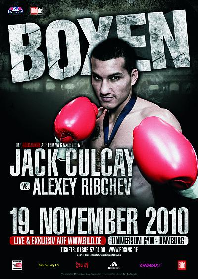 Jack Culcay ©Universum Box-Promotion.