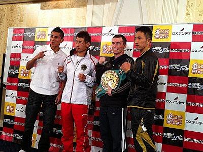 Juan Carlos Burgos, Hozumi Hasegawa, Vitali Tajbert, Takahiro Aoh ©Nobu Ikushima.