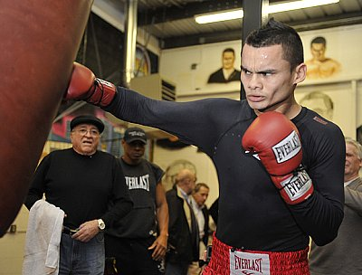 Marcos Maidana ©Gene Blevins - Hoganphotos/Golden Boy Promotions.