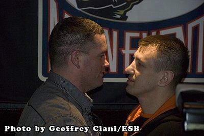 Kevin McBride, Tomasz Adamek ©Geoffrey Ciani / ESB.