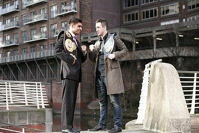 Amir Khan, Paul McCloskey ©Boxíng Ireland
