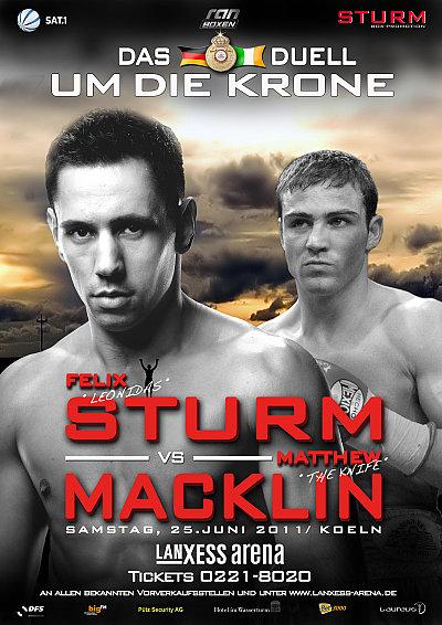 Sturm vs. Macklin ©Sturm Box-Promotion.