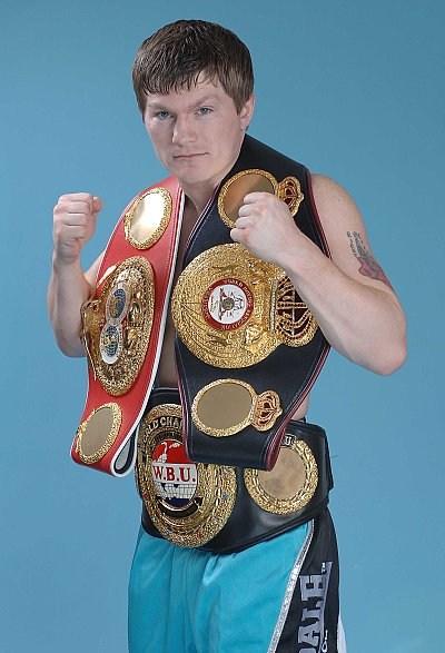Ricky Hatton ©Mark Clifford.