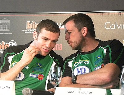 Matthew Macklin, Joe Gallagher ©Brian Peters Promotions.
