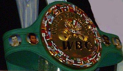 WBC Championship Belt ©Dariusz Pater.