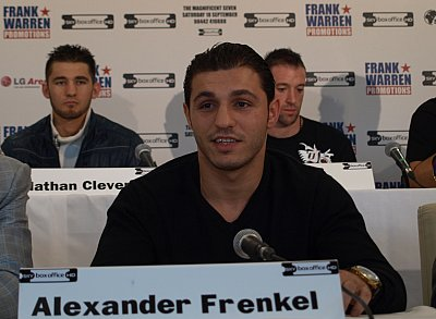 Alexander Frenkel ©Sauerland Event.