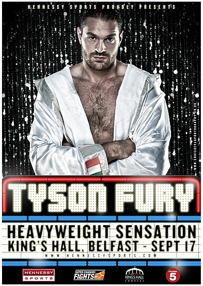 Tyson Fury ©www.chrisbevanphotography.co.uk.