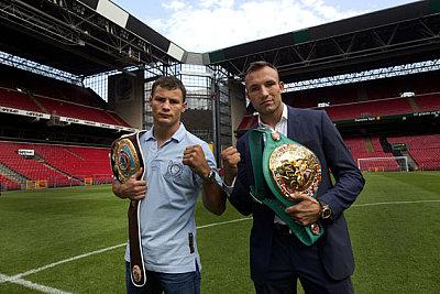Robert Stieglitz, Mikkel Kessler ©SES-Boxing.