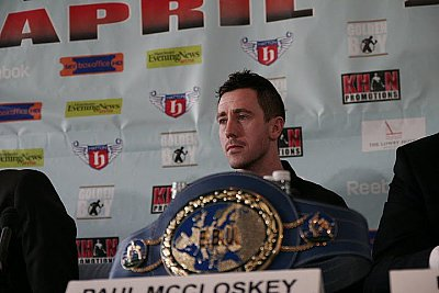 Paul McCloskey ©Boxíng Ireland.