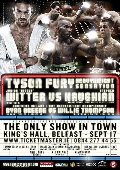 Tyson Fury ©www.chrisbevanphotography.co.uk.