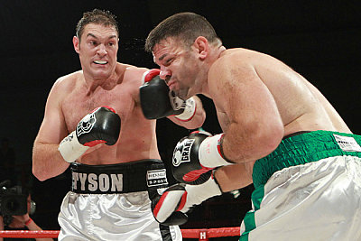 Tyson Fury, Nicolai Firtha ©Chris Royle.