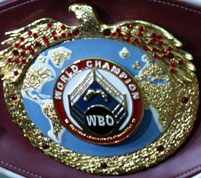 WBO-Gürtel ©Nino Celic.