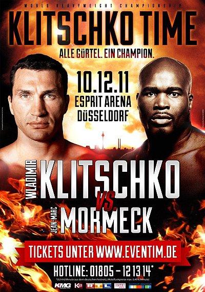 Klitschko vs. Mormeck ©KMG.