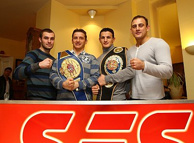 Dominic Bösel, Denis Simcic, Robin Krasniqi, Francesco Pianeta ©Eroll Popova.